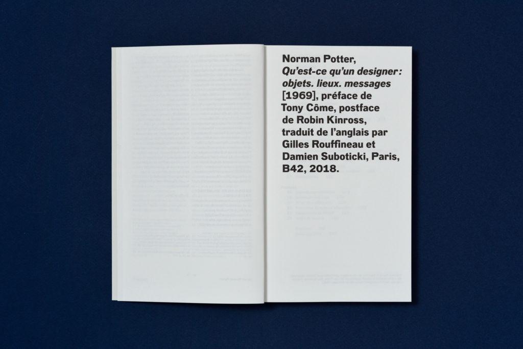 Qu Est Ce Qu Un Designer Editions B42